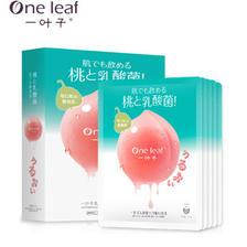 一叶子水蜜桃乳酸菌 面膜礼盒装 ¥15