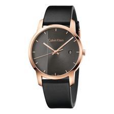折合440.93元 Calvin Klein 卡尔文·克莱因 City 系列 黑色男士时装腕表