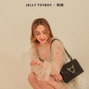 阿娇同款 香港潮牌 Jellytoyboy 蜜蜂扣信封包 229元包邮