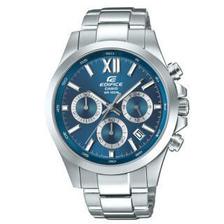 卡西欧(CASIO)手表 EDIFICE系列时尚商务人造蓝宝石玻璃镜面日期显示防水多