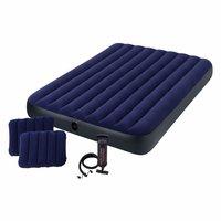 $16.63(原价$29.99) Intex 经典双枕头Queen气垫床,附送快速手动充气泵