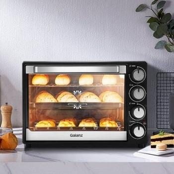天猫 双11预售:Galanz 格兰仕 K43 多功能电烤箱 40L 249元包邮(需0.1元预约,11月1日付尾款)