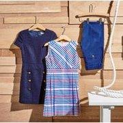 低至5折 大童、小童码都有 超多款可选 Brooks Brothers 儿童 Polo 衫、连身裙、长裤、毛衣等优惠'