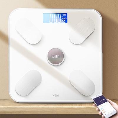 太阳能充电!智能app体脂称体重电子秤 券后19.9元
