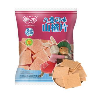 怡达 山楂饼 比得兔儿童风味山楂片22g*5包 *3件 23.94元(合7.98元/件)