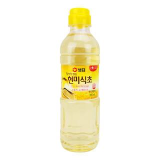 韩国进口 膳府 酿造糙米醋 食用醋凉拌醋 500ml *4件 46.6元(合11.65元/件)