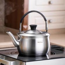 Momscook 不锈钢茶壶 泡茶壶 304材质 过滤内胆 功夫茶具 过滤沏茶壶 旅行商务