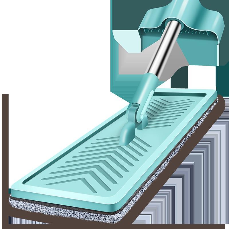 汉世刘家 免手洗平板拖把 150*36*11cm 送拖布 14.5元包邮(需用券)
