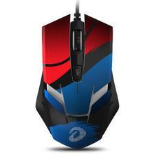 达尔优(dareu)EM902嗜血狂有线鼠标 游戏鼠标 可编辑按钮 笔记本鼠标 宏鼠