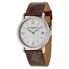 折合3162.01元 Baume and Mercier 名士 克莱斯麦系列 MOA10147 女款时装腕表