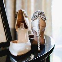 低至6折 MB平价代替 Badgley Mischka 水晶鞋,钻扣鞋热卖