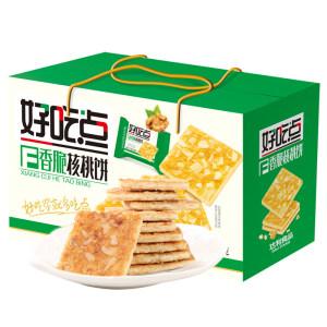 天猫超市 达利旗下 好吃点 香脆核桃饼干 800g/箱 拍5件51.75元包邮