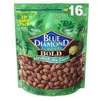 $5.99 凑单精品坚果 Blue Diamond Almonds 芥末酱油味杏仁 16oz