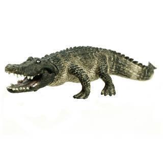 思乐(Schleich) 海洋野生动物 仿真动物模型 美洲短嘴鳄SCHC14727 37.5元