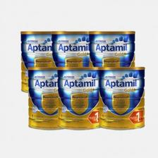 宝贝格子 限时抢购:Aptamil 爱他美 金装 婴儿配方奶粉 1段 900g*6罐装 799元包