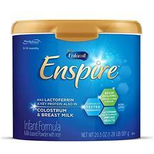 MeadJohnson Nutrition 美赞臣 Enspire 蓝臻 婴儿奶粉 581g 美国版 *2件 365.36元(合182.