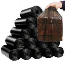 汉世刘家 炭黑垃圾袋加厚200只 7.2元包邮 新低价 618返场