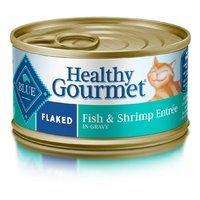 $14.51 平均每罐仅$0.6Blue Buffalo 成年猫鱼虾鲜滋味湿粮罐头,3oz24罐