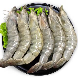 新品 原装进口厄瓜多尔白虾 2kg 69元