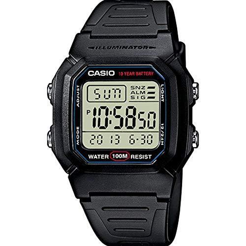 Casio 卡西欧系列 W-800H-1AVES 男式手表 114.01元