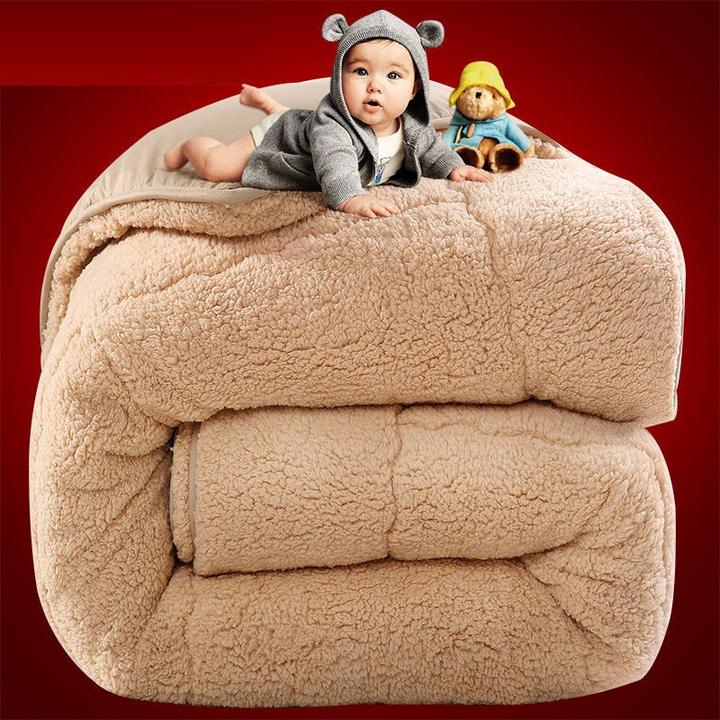 制梦家纺 羊羔绒被子冬 150*200cm 5斤 68元包邮