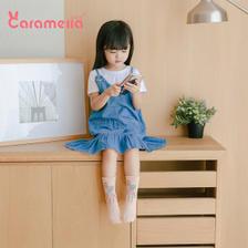 拍4件 caramella儿童棉袜8双 券后¥24.9