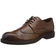 商场同款、头层牛皮:41码 ECCO/爱步 2019年新款 男士 唯途III商务皮鞋 Prime会员直邮到手555元(天猫1999元)