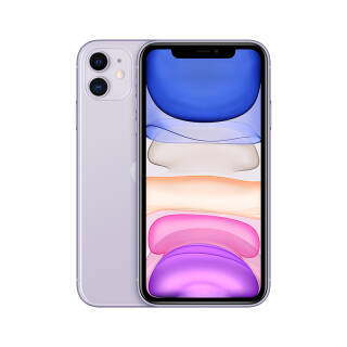 Apple iPhone 11 (A2223) 128GB 紫色 移动联通电信4G手机 双卡双待 5999元