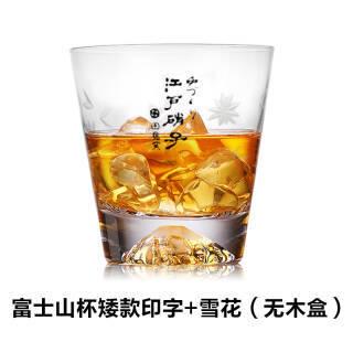 富士山水晶玻璃杯 250ml 34元