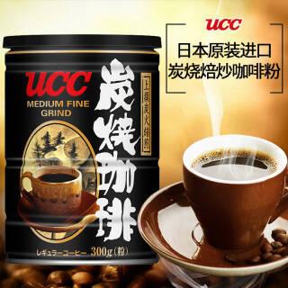 临期品:UCC 悠诗诗 炭烧咖啡粉 300g  券后25元包邮