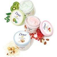4罐¥119 Dove 冰淇淋沐浴身体磨砂膏 225ml