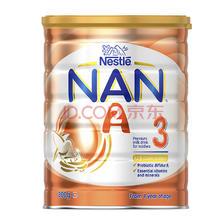 ¥391 Nestle 超级能恩 A2 婴儿配方奶粉 3段 800g