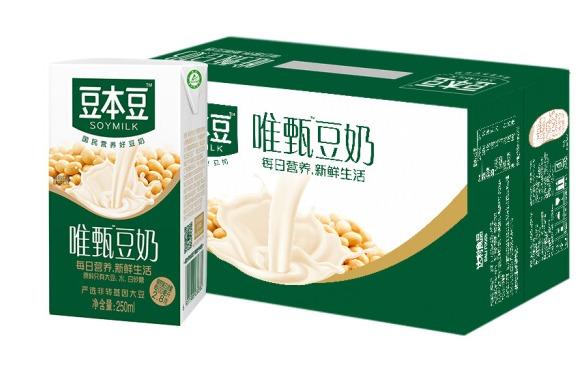 ¥30.19 豆本豆 植物蛋白饮料 早餐奶 250ml*24盒