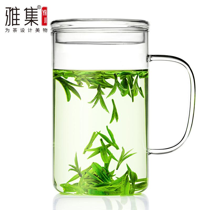 ¥19 雅集 高颜值大容量玻璃杯茶杯办公室水杯子