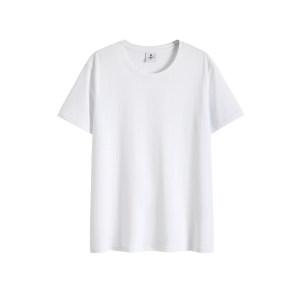 M6000 50支新疆长绒棉 男纯色T恤 19元包邮 清仓特价