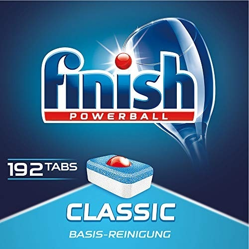 全球市占率第1: 192块x2件 Finish 亮碟 classic 经典款 洗碗块