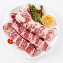 京东商城 限PLUS会员:熊氏牧场 法国猪肋排条 1kg*2件+凑单品 149元包邮(合26.41元/斤)