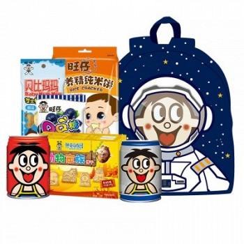 苏宁易购 Want Want 旺旺开心零食礼盒 29.9元包邮