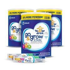 【中亚Prime会员】Similac 雅培 Go&Grow 金盾婴幼儿宝宝3段奶粉 1020g*3罐 附赠奶