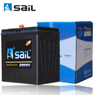 风帆(sail)汽车电瓶蓄电池6-QW-36 本田飞度丰田特锐北斗星X5维特拉雪佛兰乐驰 以旧换新上门安装 厂家直发 248元