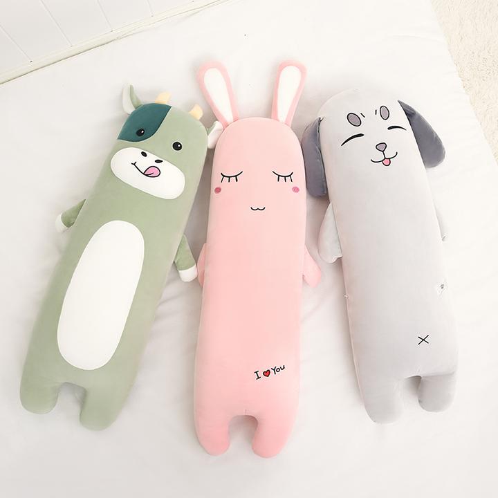 超其特 可爱毛绒玩具 长条抱枕