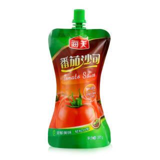 海天 番茄沙司袋装 305g *17件 58元(合3.41元/件)