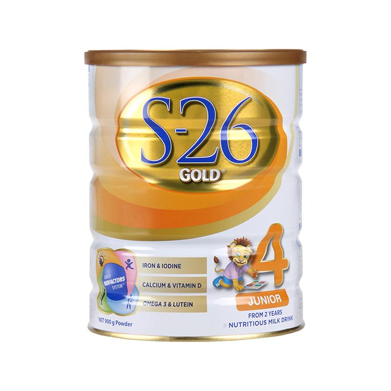 ¥76 惠氏(Wyeth)4段奶粉 Wyeth 澳新版惠氏 S-26金装 婴幼儿奶粉 4段 (2岁以上)