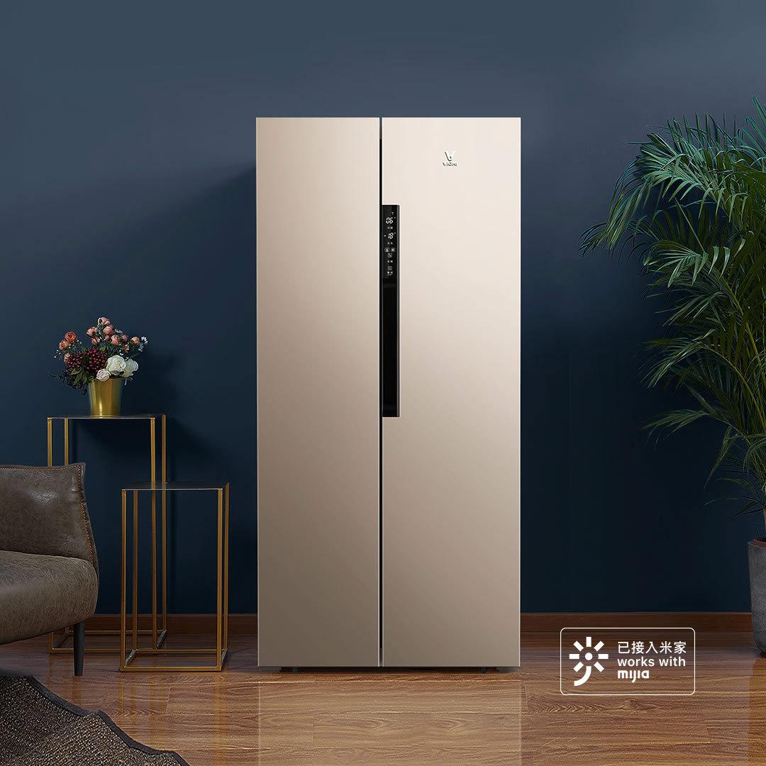 ¥1899 19日0点!VIOMI 云米 BCD-456WMSD 456升 风冷对开门冰箱