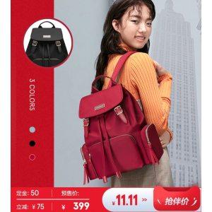 神价 新秀丽TQ4 巴宝莉相似款 女款 时尚双肩包 18L 162元双11预售到手价 21日0点前1500件半价后