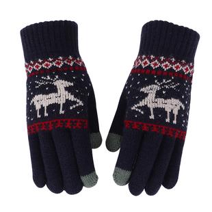 秋冬季保暖麋鹿手套女 ¥7