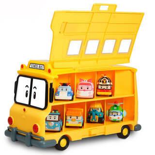 Silverlit 银辉 珀利POLI 汽车玩具 动漫周边 POLI校车带储物仓 99元