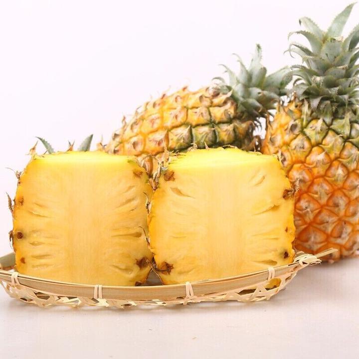 京东PLUS会员: 齐玺 迷你香水凤梨 小菠萝 500g *5件 10.8元包邮