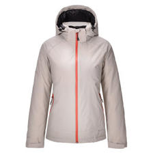 君羽 冬季新款 800蓬150克90%鹅绒 防风防雨雪 女加厚冲锋衣羽绒服 可抗-15℃ 7