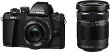 Olympus OM-D E-M10 Mark II紧凑型系统相机-14-42 EZ镜头+40-150 mm R,黑色prime到手约378